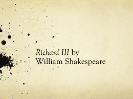 Richard III PPT
