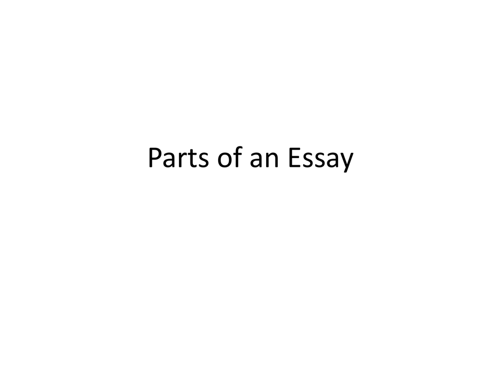 parts of an essay badfddfbaacapng