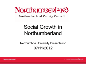 Kristen Francis, Northumberland Council (PowerPoint, 272Kb)