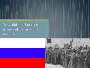 Why the Russian army suffer so many defeats