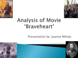 Analysis of Movie Braveheart