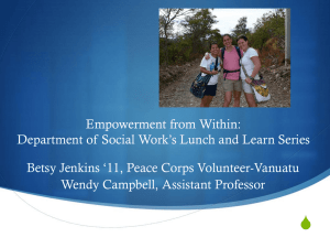 Empowerment from Within: Social Work Lunch and Learn