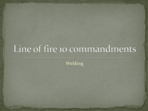 Line of fire 10 commandments