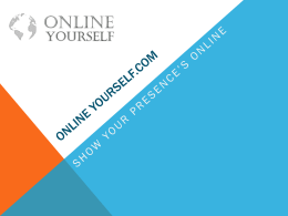 Companies - Online Yourself