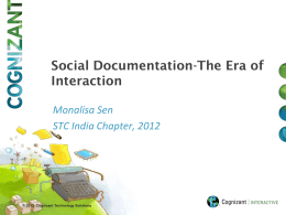 Social Documentation—The Era of Interaction