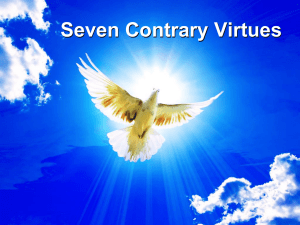 Seven Contrary Virtues