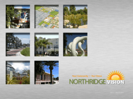 PowerPoint - Brief - Northridge Vision