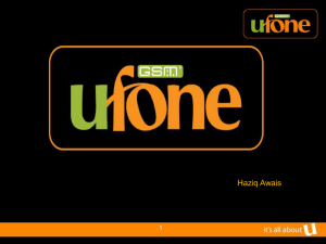 Recruitment and Selection, UFONE