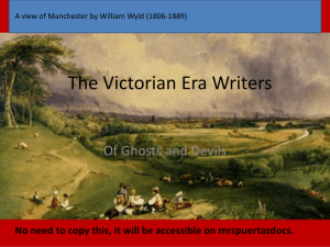 The Victorian Era Writers
