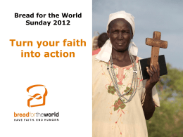 """Turn Your Faith Into Action"" Slideshow"