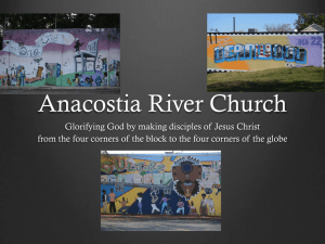 ARC Making Disciples - Anacostia River Church