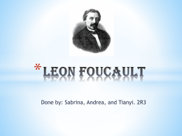 Leon Foucault - WordPress.com