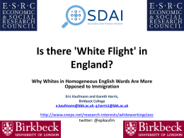 `White Flight`?