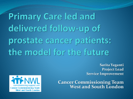 Cancer Commissioning Team West and South London