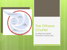 The Ottawa Charter