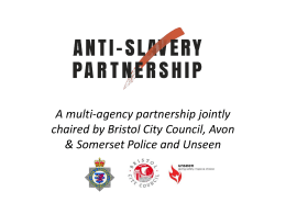 Bristol Anti-Trafficking Partnership (ATP)