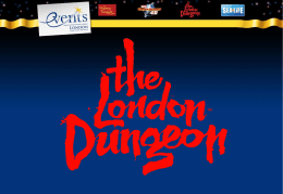 London Dungeon - Merlin Events