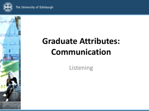 Title should go here - Employability Initiative, University of Edinburgh