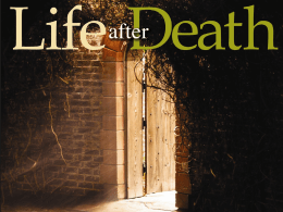Life After Death part 1 - Radford Church of Christ