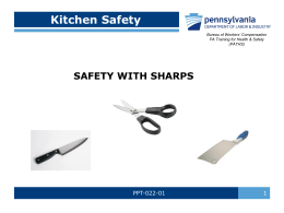 Kitchen Safety - Portal.state.pa.us