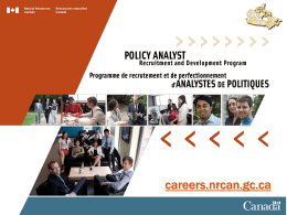 careers.nrcan.gc.ca Slide 1 Comments Click