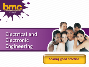 BMC - Electrical and Electronic Engineering