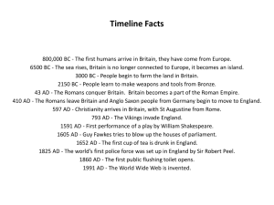 Timeline Facts Answers