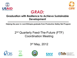 GRAD PPT-FTF QRT meeting