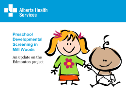 Partners - Alberta Centre for Child, Family & Community Research