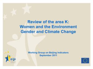 Gender and Climate Change_WG15Sept