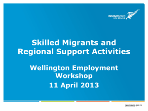 Judi Altinkaya - Wellington Regional Strategy