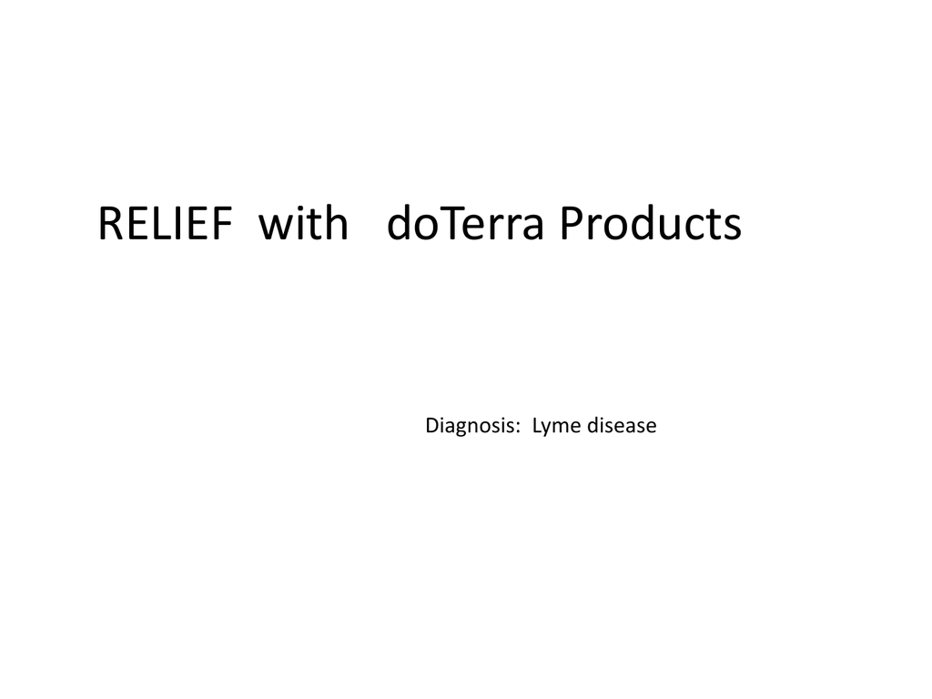 Lymes Disease – Dr  Hill