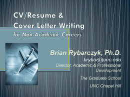 CV and Cover Letter writing_Across the Spectrum