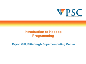 Big Data Programming with Hadoop and Spark - PSC