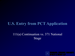 US Entry from PCTCON v Nationalization