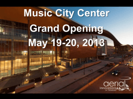 Nashville Music City Center
