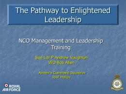 The Pathway to Enlightened Leadership