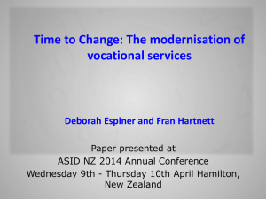Time to change - ResearchSpace@Auckland