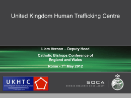Liam Vernon, UK Human Trafficking Centre
