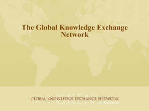 information. - Global Knowledge Exchange Network