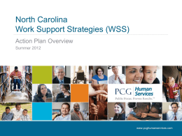 NC WSS Action Plan PowerPoint 11-7-12
