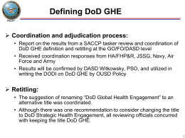 DoD GHE Definition Jan2014v2