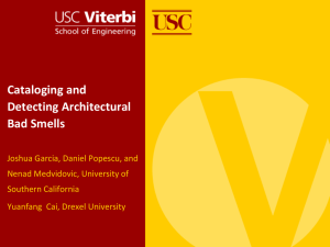 Presentation - University of Southern California