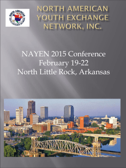 introductions - NAYEN Conference