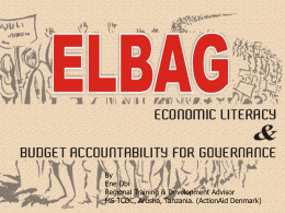 Introduction to ELBAG
