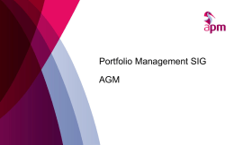 APM working with BT Complete - Association for Project Management