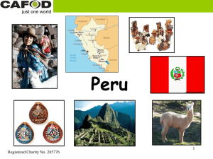 Modified Peru presentation