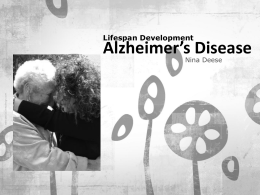 The Brain and Alzheimer`s Disease