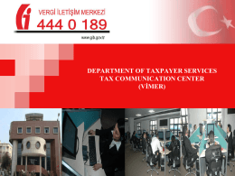 department of taxpayer servi̇ces