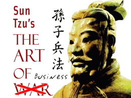The art of war/business